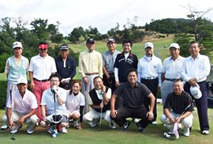 「第3回唐下杯」中経協ゴルフ大会参加者