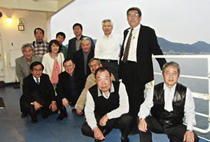 韓国視察旅行 出発