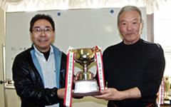 第4回唐下杯ゴルフ 支部対抗戦優勝、県南支部