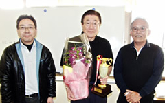 第4回唐下杯ゴルフ 優勝、田中剛男氏